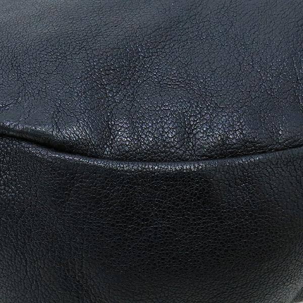 Ferragamo(페라가모) 21 B468 블랙 컬러 레더 호보 숄더백 [강남본점] 이미지4 - 고이비토 중고명품