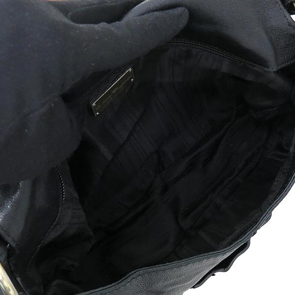 Ferragamo(페라가모) 21 B468 블랙 컬러 레더 호보 숄더백 [강남본점] 이미지6 - 고이비토 중고명품