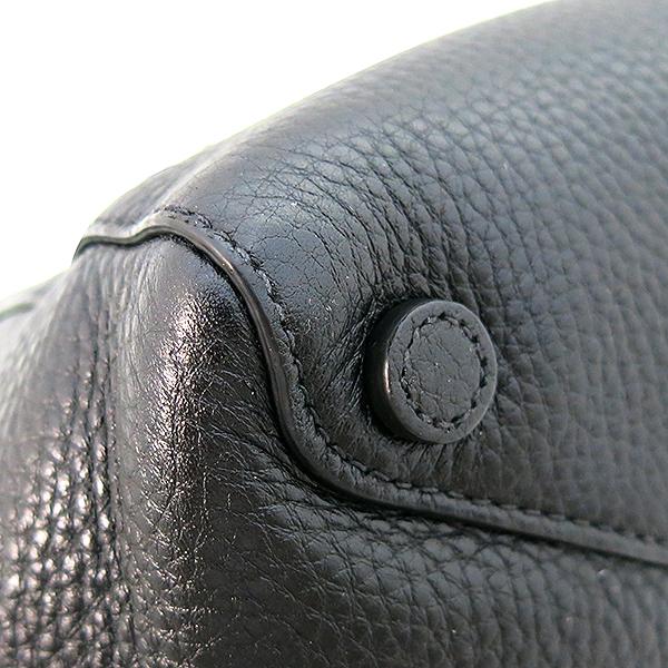 Prada(프라다) BR5092 VIT DAINNO(비텔로다이노) 블랙 레더 금장 로고 장식 토트백 [부산센텀본점] 이미지5 - 고이비토 중고명품