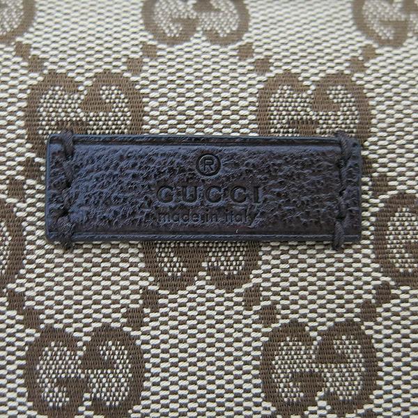 Gucci(구찌) 181092 GG 로고 자가드 삼선스티치 호보 크로스백 [부산센텀본점] 이미지4 - 고이비토 중고명품