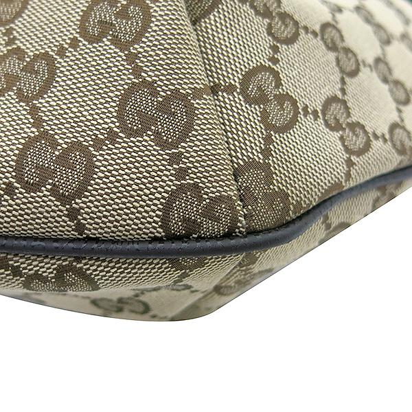 Gucci(구찌) 181092 GG 로고 자가드 삼선스티치 호보 크로스백 [부산센텀본점] 이미지5 - 고이비토 중고명품