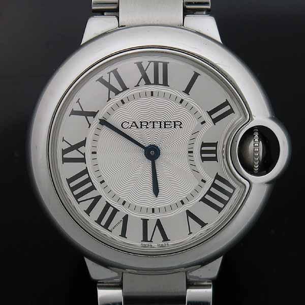 Cartier(까르띠에) W6920084 발롱블루 드 까르띠에 스틸 쿼츠 33MM 여성용 시계 [인천점] 이미지2 - 고이비토 중고명품