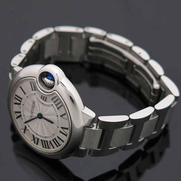 Cartier(까르띠에) W6920084 발롱블루 드 까르띠에 스틸 쿼츠 33MM 여성용 시계 [인천점] 이미지3 - 고이비토 중고명품