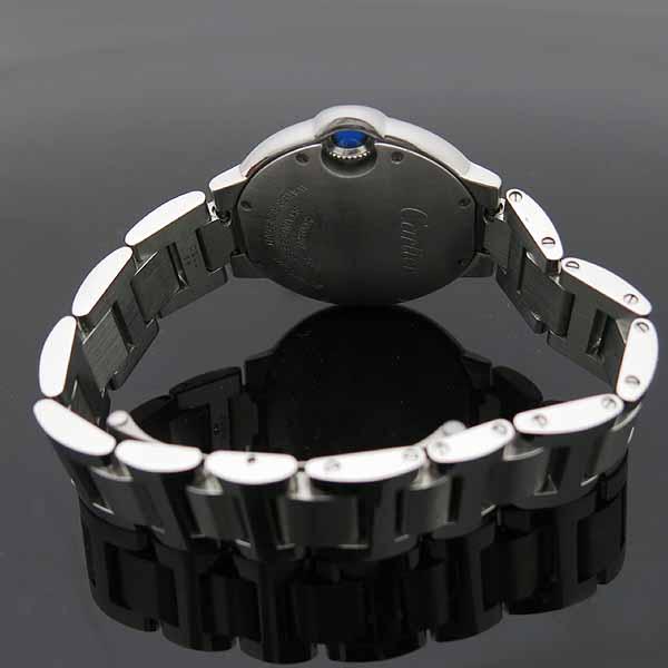 Cartier(까르띠에) W6920084 발롱블루 드 까르띠에 스틸 쿼츠 33MM 여성용 시계 [인천점] 이미지4 - 고이비토 중고명품