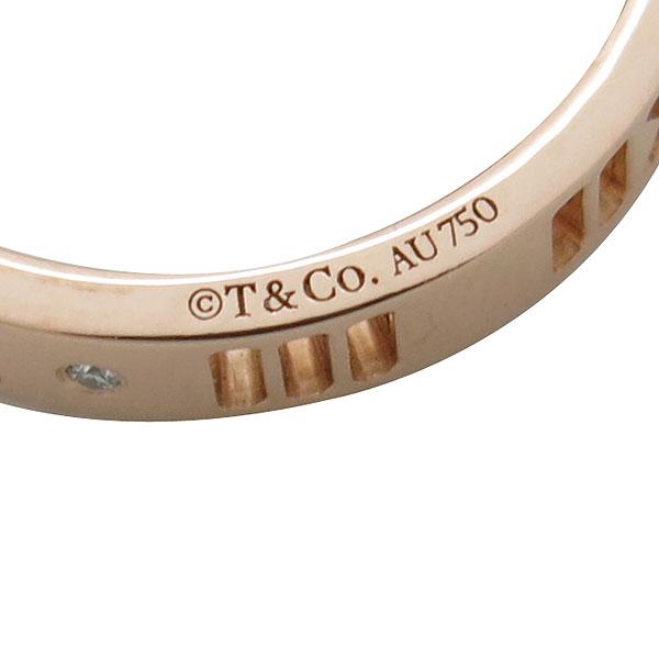 Tiffany(티파니) 18K 옐로우 골드 아틀라스 피어스드 4포인트 다이아 반지 11.5호 [인천점] 이미지5 - 고이비토 중고명품