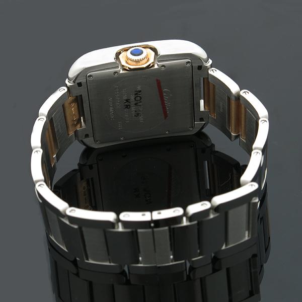 Cartier(까르띠에) WT100025 탱크 앙그레즈 핑크골드 콤비 11포인트 다이아 L사이즈 오토매틱 남성용 시계 [인천점] 이미지3 - 고이비토 중고명품