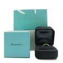 Tiffany(티파니) 18K(750) 옐로우 골드 네로우 1837 로고 반지-9.5호 [인천점]