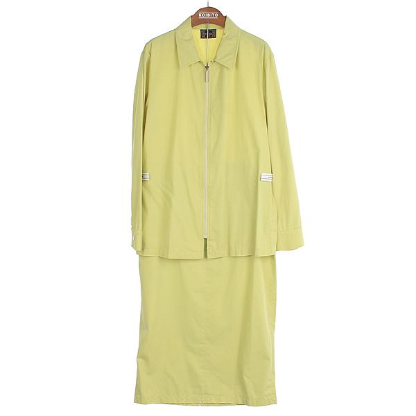 Fendi(펜디) 라이트 그린 컬러 여성용 짚업 자켓 + 트라우져 세트 [부산센텀본점]