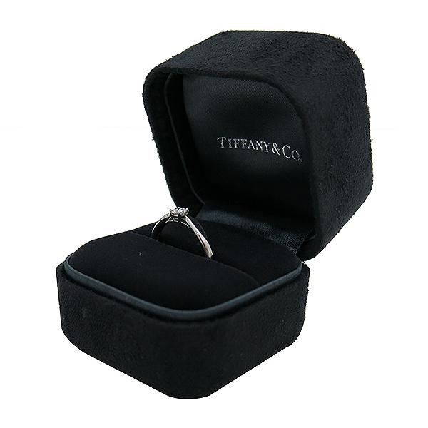 Tiffany(티파니) PT950(플래티늄) 하모니 0.19ct 다이아몬드(I컬러 VVS2) 웨딩 반지 - 12호 [부산센텀본점] 이미지2 - 고이비토 중고명품