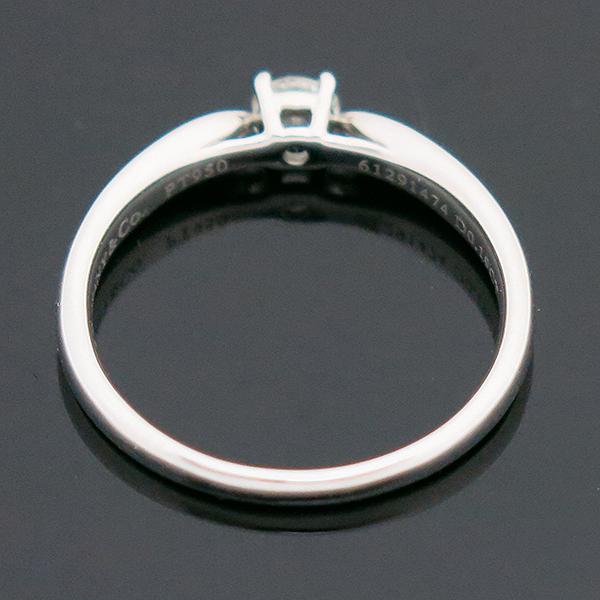 Tiffany(티파니) PT950(플래티늄) 하모니 0.19ct 다이아몬드(I컬러 VVS2) 웨딩 반지 - 12호 [부산센텀본점] 이미지3 - 고이비토 중고명품
