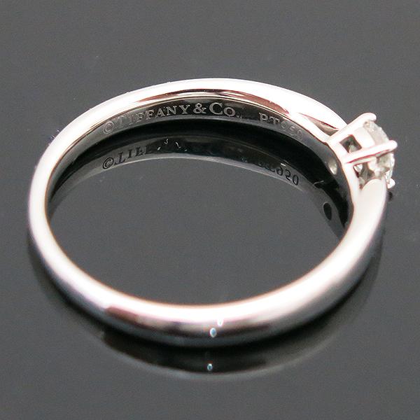 Tiffany(티파니) PT950(플래티늄) 하모니 0.19ct 다이아몬드(I컬러 VVS2) 웨딩 반지 - 12호 [부산센텀본점] 이미지4 - 고이비토 중고명품