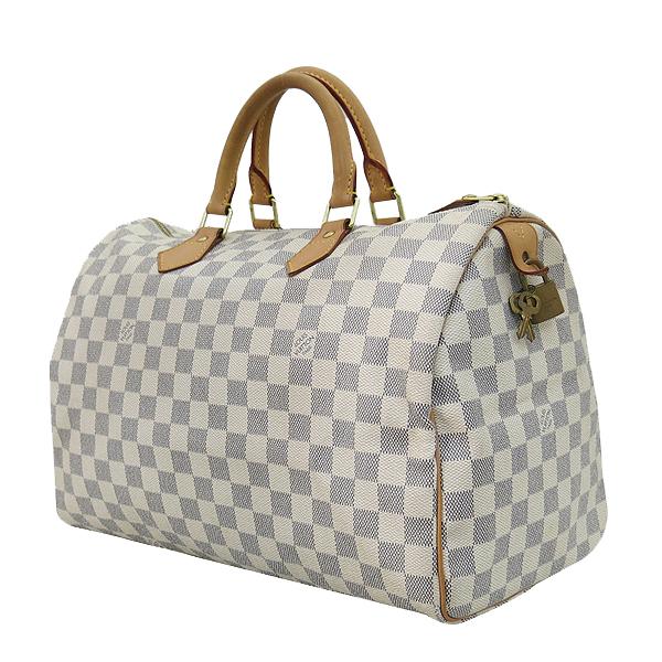 Louis Vuitton(루이비통) N41369 다미에 아주르 캔버스 스피디 35 토트백 [부산센텀본점] 이미지3 - 고이비토 중고명품