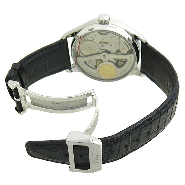 IWC(아이더블유씨) IW500109 PORTUGUESE (포르투기스) 7DAYS 세븐데이즈 시스루백 오토매틱 가죽밴드 시계 [강남본점] 이미지3 - 고이비토 중고명품