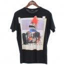 DSQUARED2 (디스퀘어드2) S74GD0146 프린팅 블랙 라운드넥 티셔츠 [부산센텀본점]