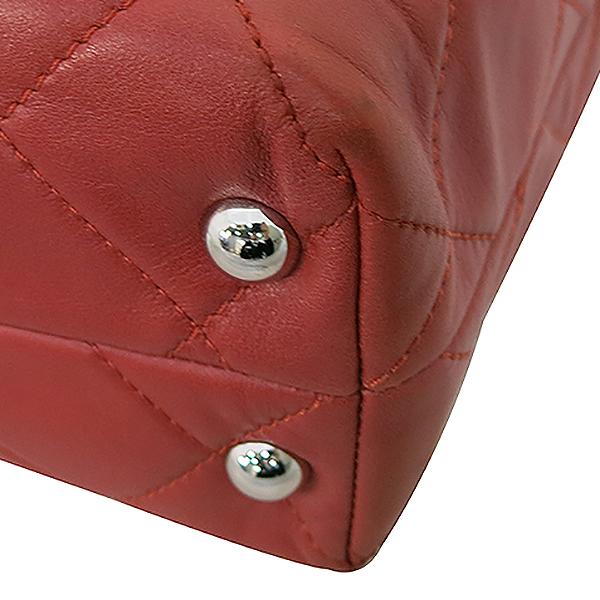 Chanel(샤넬) COCO로고 장식 램스킨 퀼팅 스티치 체인 숄더백 [부산센텀본점] 이미지5 - 고이비토 중고명품