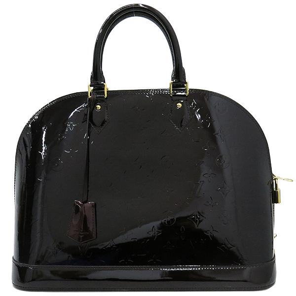 Louis Vuitton(루이비통) M93595 모노그램 베르니 아마랑뜨 알마 GM 토트백 [대구반월당본점] 이미지2 - 고이비토 중고명품