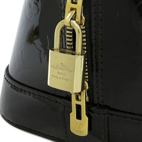 Louis Vuitton(루이비통) M93595 모노그램 베르니 아마랑뜨 알마 GM 토트백 [대구반월당본점] 이미지5 - 고이비토 중고명품