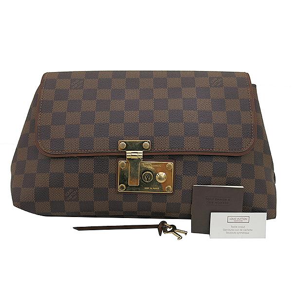 Louis Vuitton(루이비통) N41278 다미에 에벤 캔버스 포쉐트 에스콧 클러치백 [부산센텀본점]