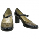 Louis Vuitton(루이비통) 금장 로고 장식 여성용 구두 [대구반월당본점]