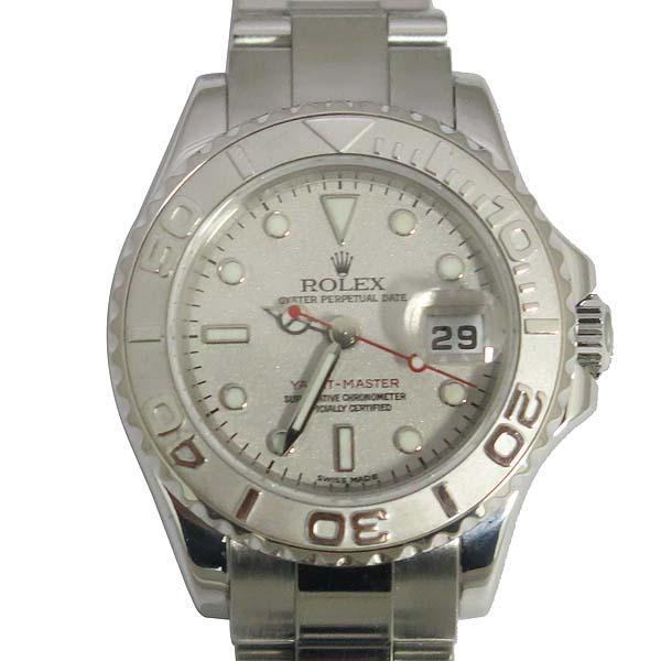 Rolex(로렉스) 169622 YACHT-MASTER(요트마스터) 플래티늄 다이얼 스틸 여성용 시계 [동대문점] 이미지2 - 고이비토 중고명품