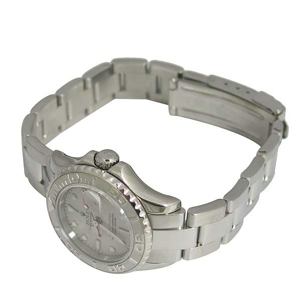 Rolex(로렉스) 169622 YACHT-MASTER(요트마스터) 플래티늄 다이얼 스틸 여성용 시계 [동대문점] 이미지3 - 고이비토 중고명품