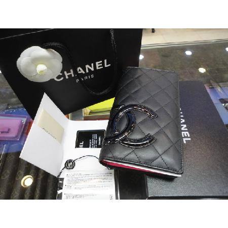 81eac8474cc Chanel(샤넬) A26717Y03880 블랙 COCO 로고 깜봉 장지갑 w/ CHANEL/ 샤넬 ...