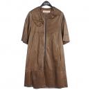 MARNI(마르니) 브라운 컬러 7부 양가죽 여성용 자켓 [부산센텀본점]
