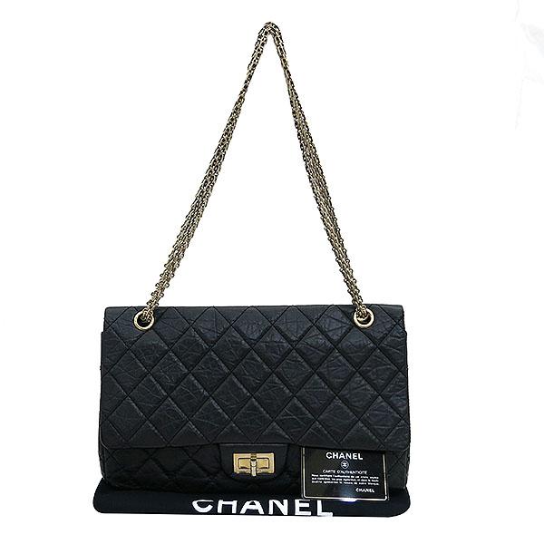 Chanel(샤넬) A37590Y04634 2.55 빈티지 L(점보) 사이즈 금장 체인 숄더백  [대전본점]