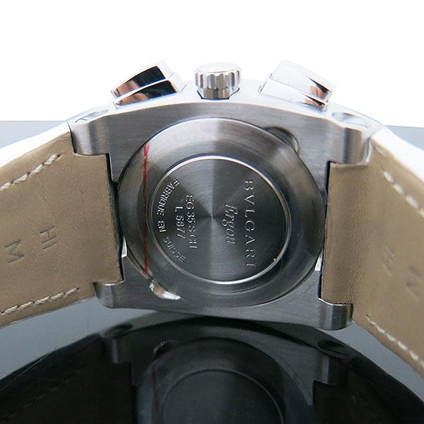 Bvlgari(불가리) EG35SCH ERGON(에르곤) 21포인트 다이아 자개판 오토매틱 크로노그래프 스틸[부산센텀본점] 이미지4 - 고이비토 중고명품