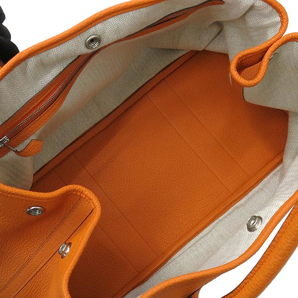 Hermes(에르메스) 오렌지컬러 가든파티 36 토트백 [대구반월당본점] 이미지6 - 고이비토 중고명품