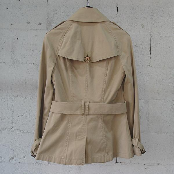 Burberry(버버리) 3791996 면 100% 베이지 컬러 여성용 자켓+벨트set [동대문점]