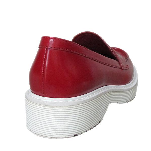 Prada(프라다) 3D5944 레드 컬러 여성용 로퍼 [동대문점]
