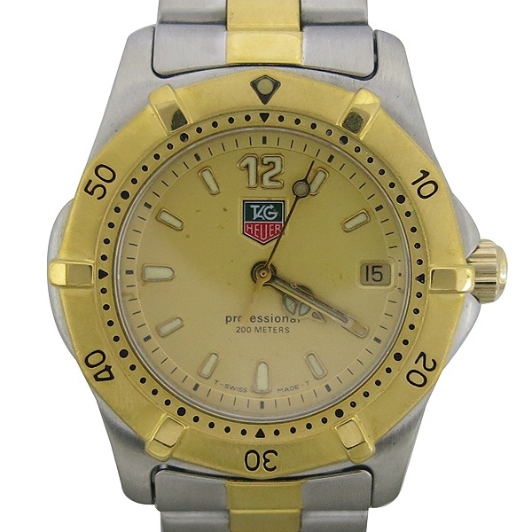 Tag Heuer(태그호이어) WK1221 금장 콤비 PROFESSIONAL(프로페셔널) 여성용 시계 [동대문점]