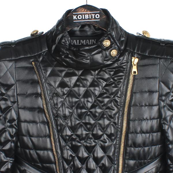 Balmain(발망) 100% 폴리에스터 블랙 퀼팅 오리털 자켓 [강남본점] 이미지2 - 고이비토 중고명품