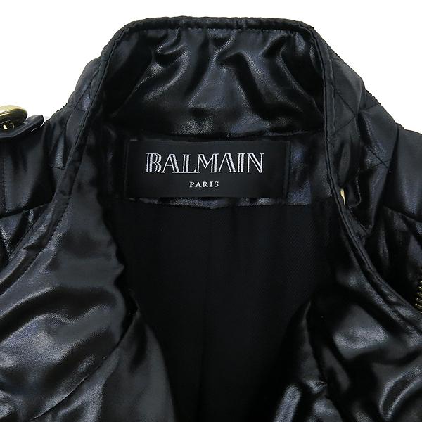 Balmain(발망) 100% 폴리에스터 블랙 퀼팅 오리털 자켓 [강남본점] 이미지5 - 고이비토 중고명품