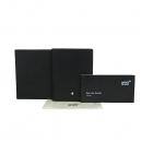 Montblanc(몽블랑) U0002664 블렉 레더 마이스터스튁 4cc 뷰 포켓 다용도 지갑 [동대문점]