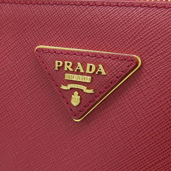Prada(프라다) BN1786 SAFFIANO LUX 레드 컬러 사피아노 럭스 레드 삼각 금장로고 토트백 [대구반월당본점] 이미지4 - 고이비토 중고명품