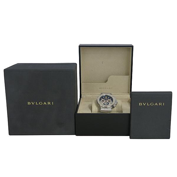 Bvlgari(불가리) DG42SWGCH DIAGONO CALIBRE 303(디아고노 칼리브레 303) 크로노그래프 오토매틱 스틸 남성용 시계 [동대문점]