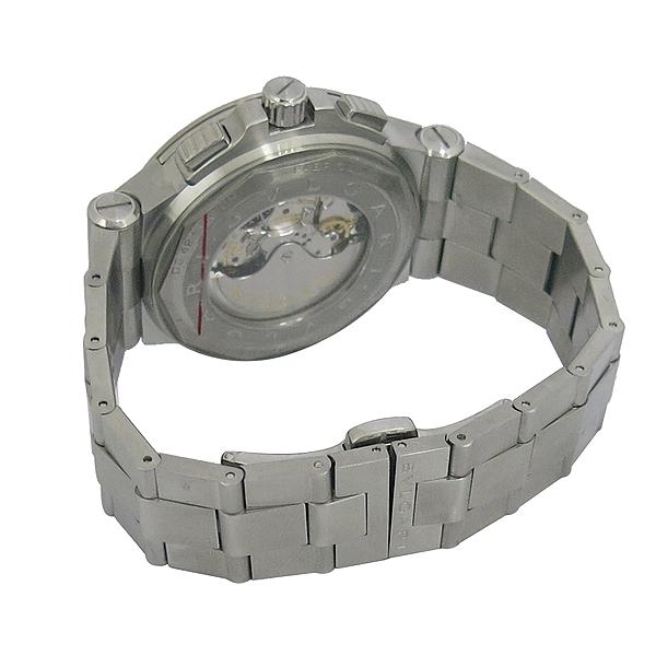 Bvlgari(불가리) DG42SWGCH DIAGONO CALIBRE 303(디아고노 칼리브레 303) 크로노그래프 오토매틱 스틸 남성용 시계 [동대문점] 이미지4 - 고이비토 중고명품