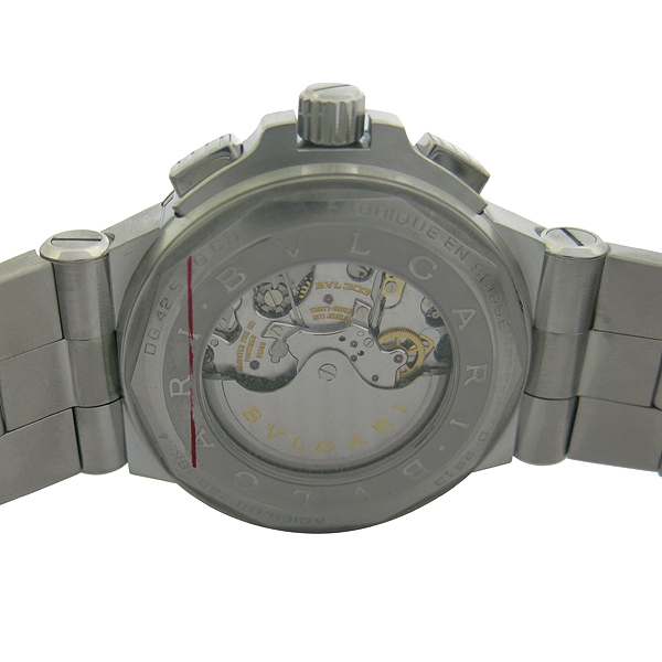 Bvlgari(불가리) DG42SWGCH DIAGONO CALIBRE 303(디아고노 칼리브레 303) 크로노그래프 오토매틱 스틸 남성용 시계 [동대문점] 이미지5 - 고이비토 중고명품