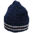 THOM BROWNE(톰브라운) TH578B008R 블루 네이비 모 100% 니트 비니모자 [강남본점]