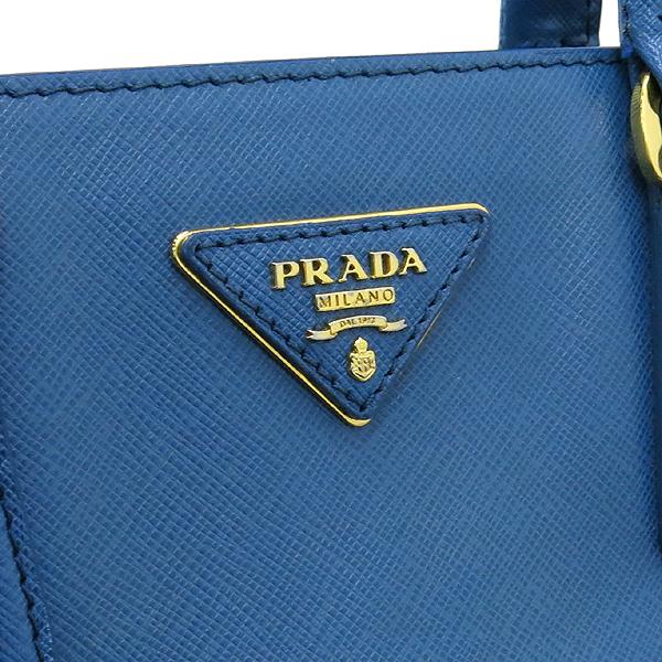 Prada(프라다) 금장 삼각 로고 장식 사피아노 레더 토트백 + 숄더 스트랩 [대구반월당본점] 이미지4 - 고이비토 중고명품