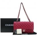 Chanel(샤넬) A01112 램스킨 클래식 M사이즈 은장 체인 숄더백 [강남본점]
