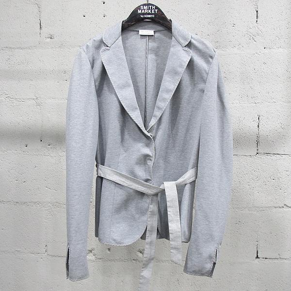 BRUNELLO CUCINELLI (브루넬로 쿠치넬리) 면 혼방 그레이 컬러 여성용 자켓 [동대문점]