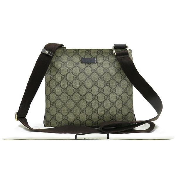 Gucci(구찌) 201538 GG 로고 PVC 미니 크로스백