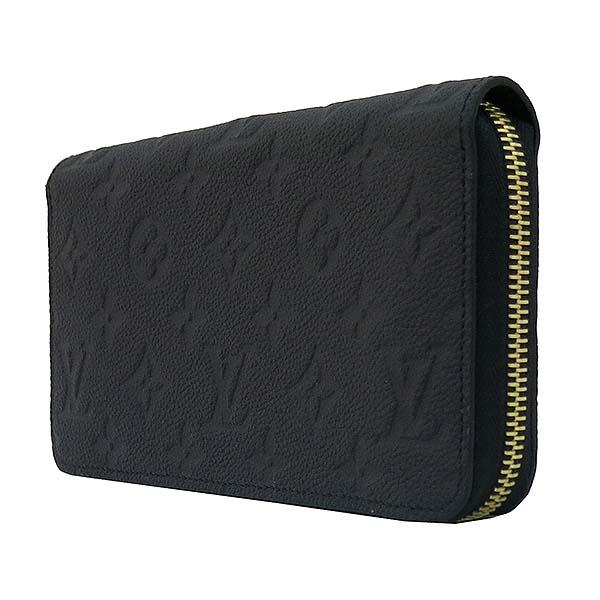 Louis Vuitton(루이비통) M61864 모노그램 앙프랑뜨 블랙 컬러 지피 월릿 장지갑 [부산센텀본점]