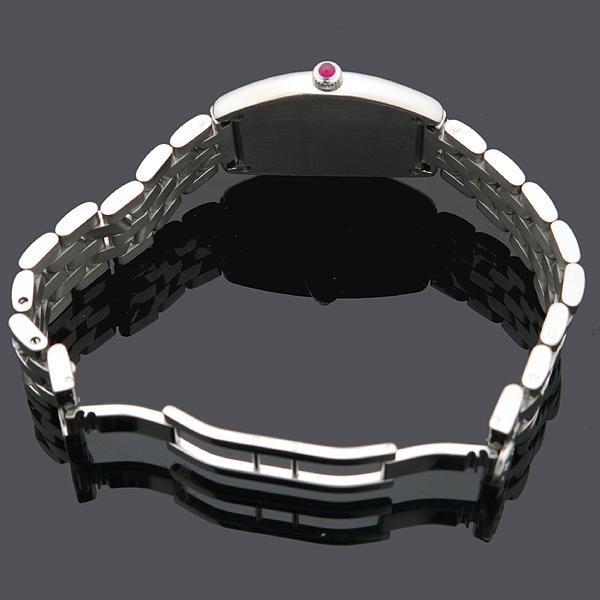 FRANCK MULLER(프랭크뮬러) CURVEX (커벡스) 1752QZ 스틸 밴드 여성용 시계 [인천점] 이미지5 - 고이비토 중고명품