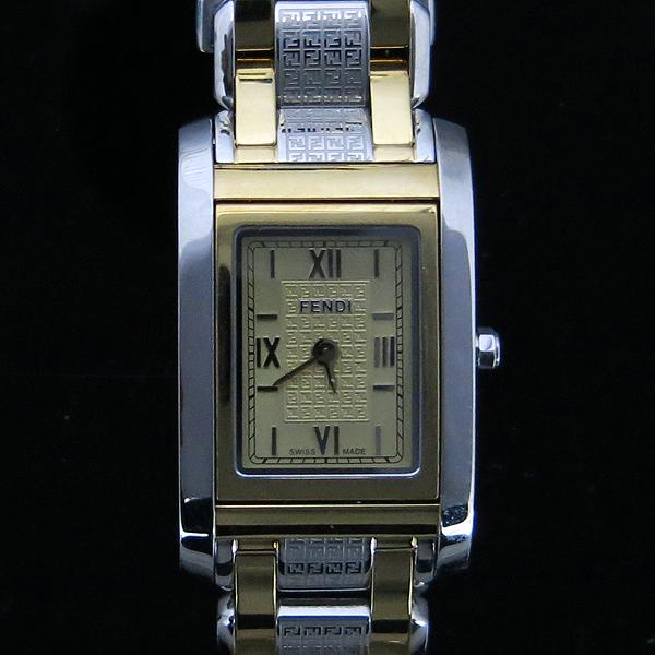 Fendi(펜디) 7600L 사각 금장 콤비 여성용 시계 [동대문점]