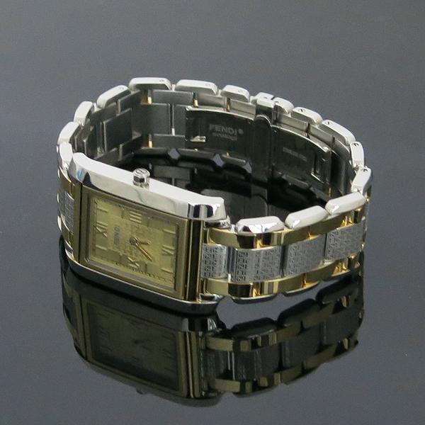 Fendi(펜디) 7600M 사각 금장 콤비 남성용 시계 [동대문점]