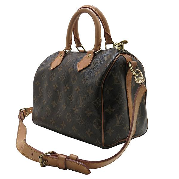 Louis Vuitton(루이비통) M40390 모노그램 캔버스 반둘리에 스피디 25 토트백+숄더스트랩 [인천점]